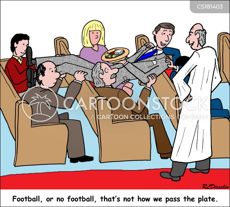 church attendance cartoon