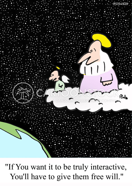 free-will cartoon