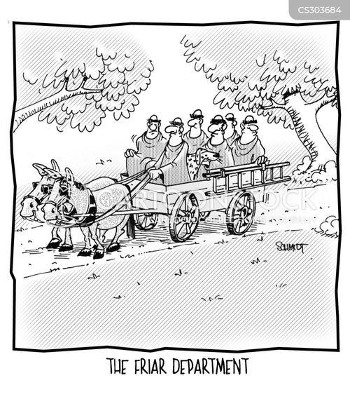 clerics cartoon