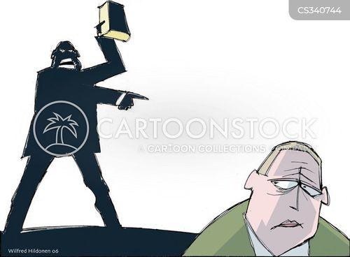 obeys cartoon