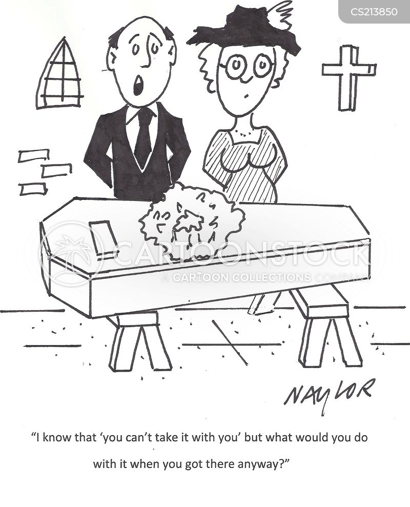 earthly riches cartoon