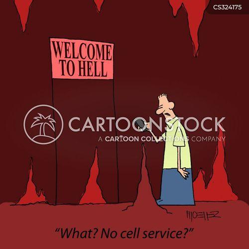phone service cartoon
