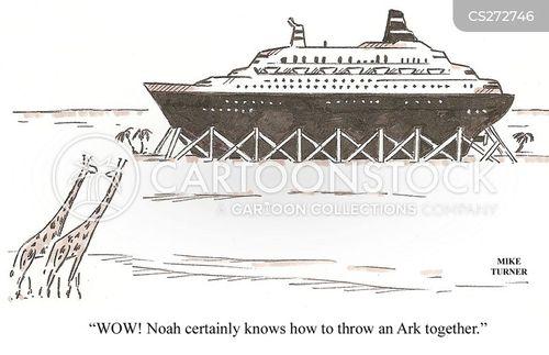 ship builder cartoon