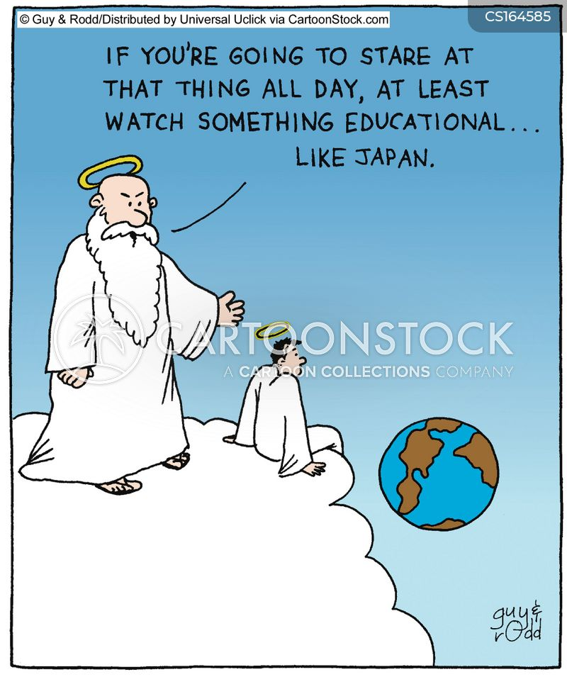 heaven cartoon