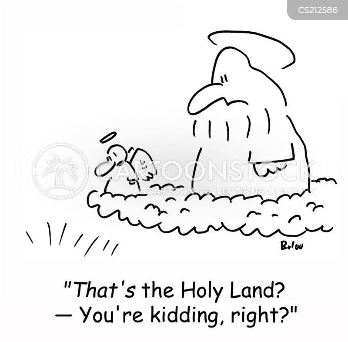 kidding cartoon