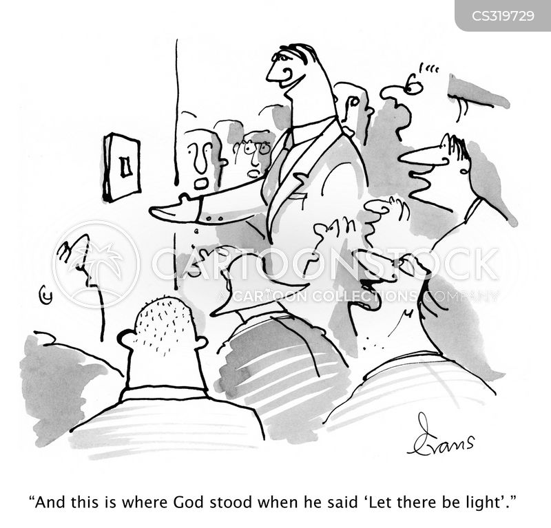 let there be light cartoon