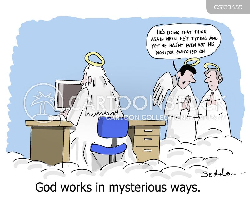 divine powers cartoon