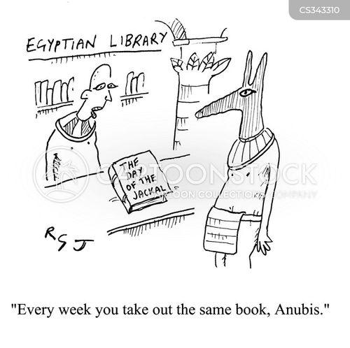 egyptian gods cartoon