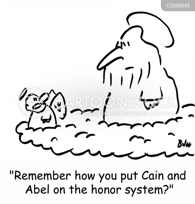 cain cartoon