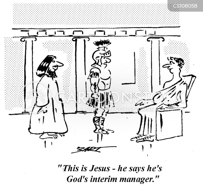interim manager cartoon
