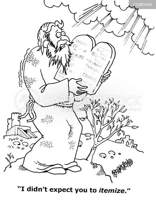 itemise cartoon