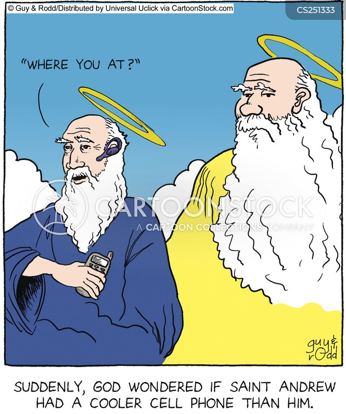 Saint Andrew Cartoons and Comics