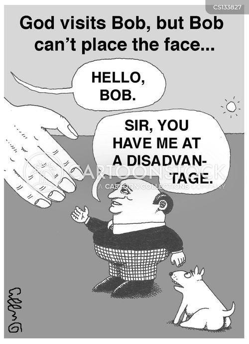 shake hands cartoon