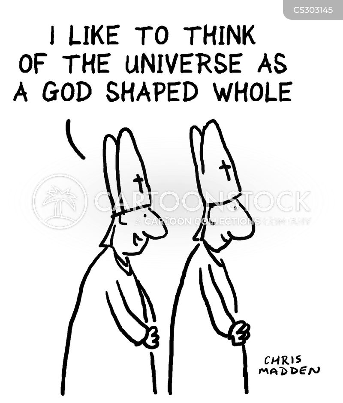 theological cartoon