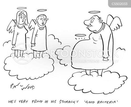 probiotic cartoon