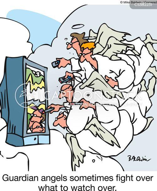 guardian angel cartoon