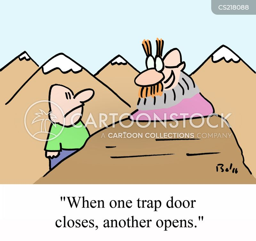 opens cartoon