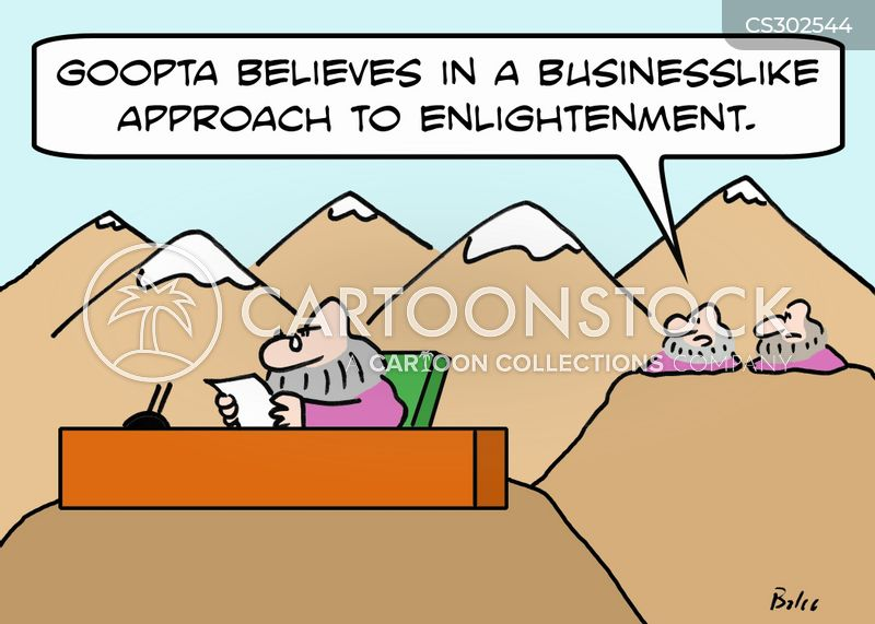 businesslike cartoon