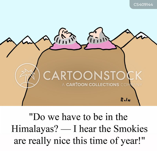 smokies cartoon