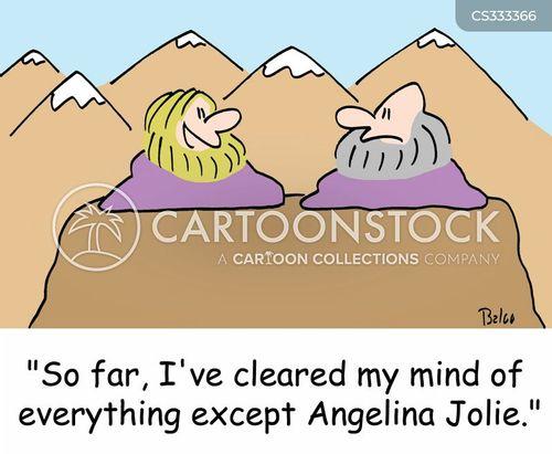angelina jolie cartoon