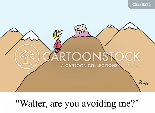 avoided cartoon