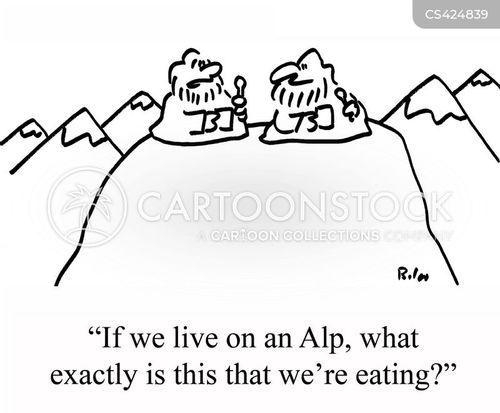 alp cartoon