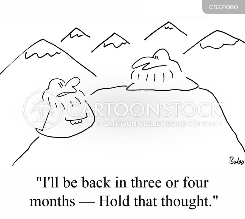 hold that thought cartoon