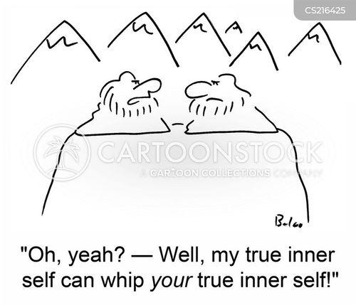 inner self cartoon