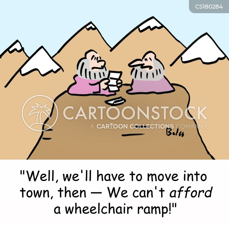 ramp cartoon