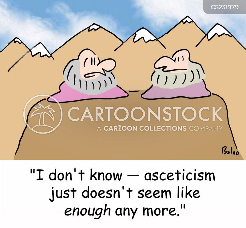 Asceticism Cartoons and Comics - funny pictures from