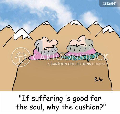 suffers cartoon