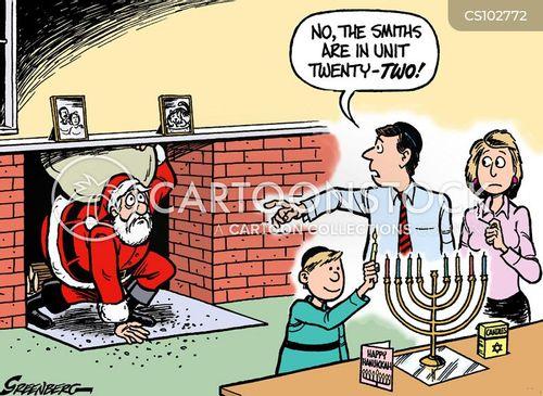 chanukkah cartoon