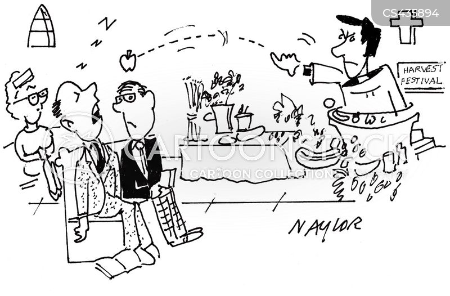 harvest festivals cartoon