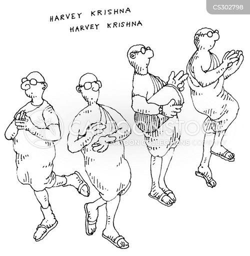 krishna cartoon