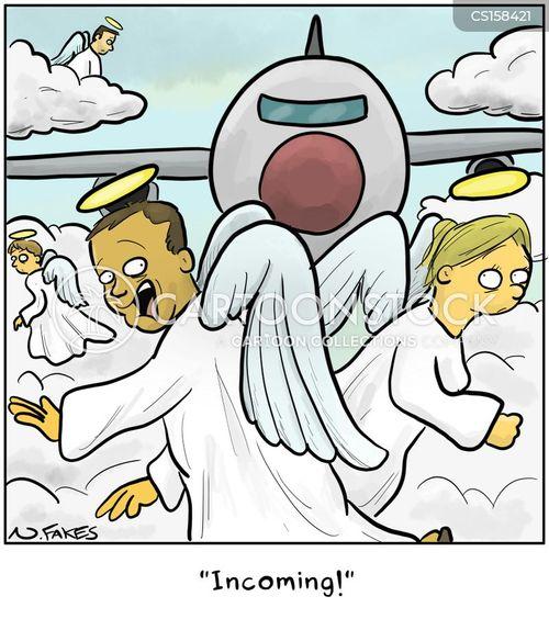 collision course cartoon