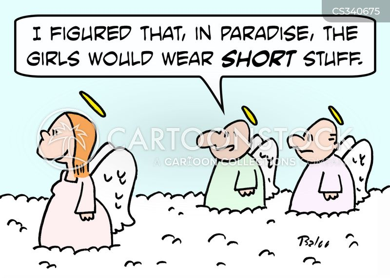 skimpy clothes cartoon