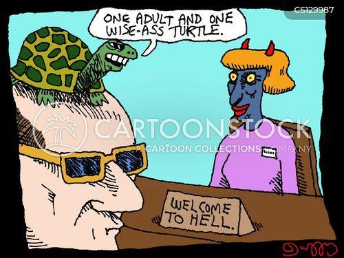 welcoming committees cartoon