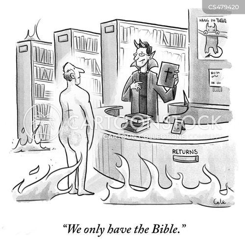 christian mythology cartoon