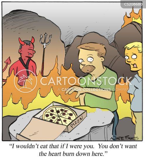 indigestion cartoon