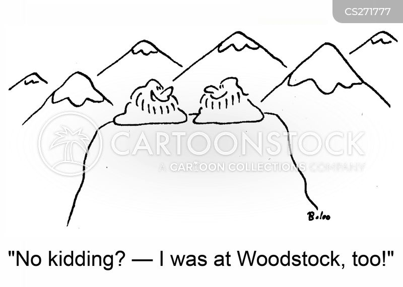 woodstock cartoon