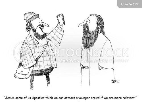 hipster fashion cartoon