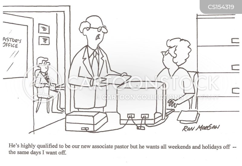 working weekends cartoon