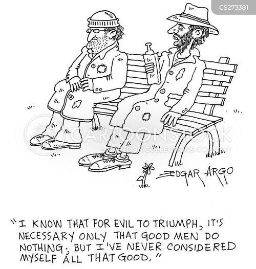 philosophical debates cartoon