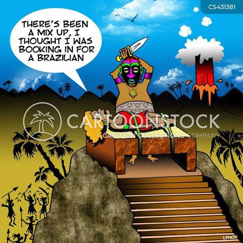 incas cartoon