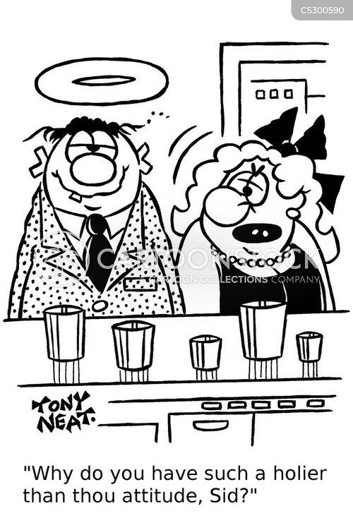 holier cartoon