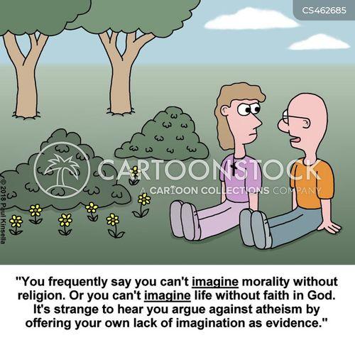 religious debates cartoon