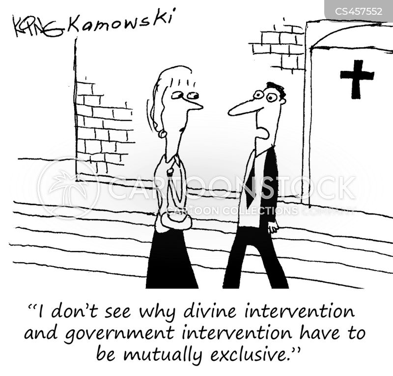 government intervention cartoon