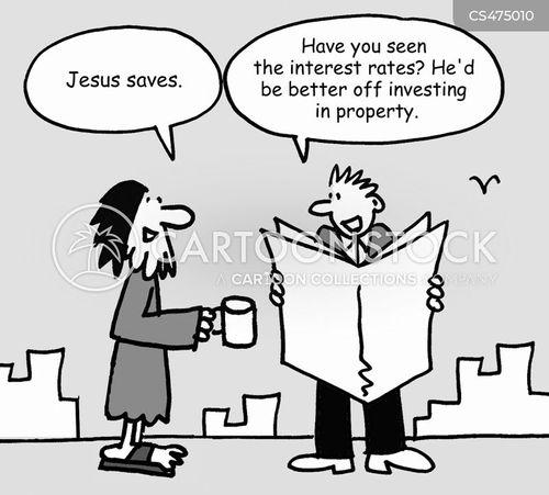 market tips cartoon