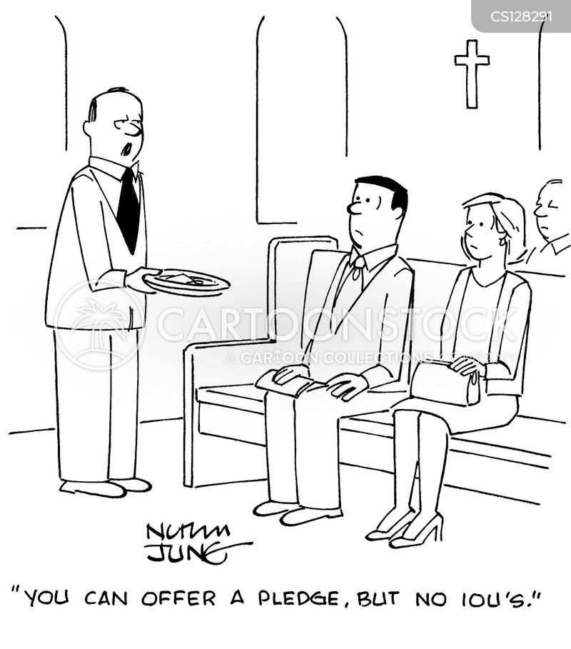 pledges cartoon