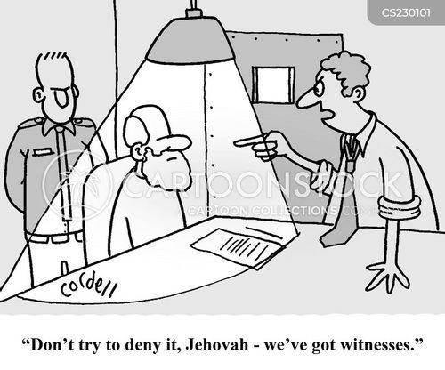 jehovah cartoon